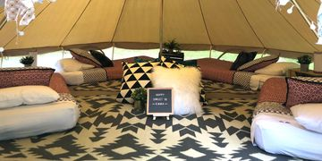 glamping party Ridgeland, Mississippi Upcountry Camp