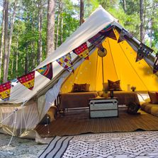 family glamping Jackson, Mississippi Upcountry Camp