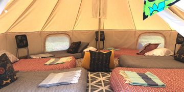 glamping for six