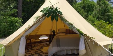 glamping Madison, Mississippi Upcountry Camp