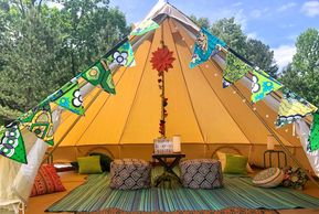 glamping party tent rental Mississippi