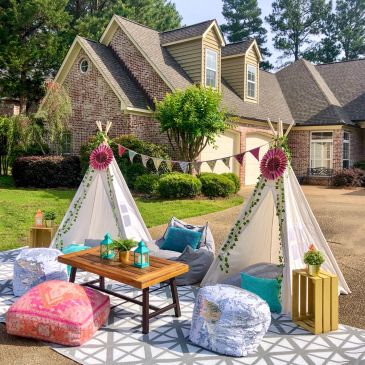 quarantine party ideas glamping in Mississippi with Upcountry Camp