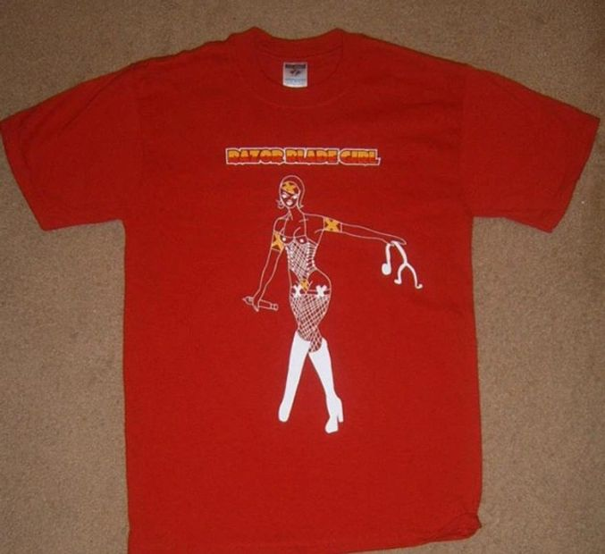 2008 GasmaskGirl video T-Shirt.