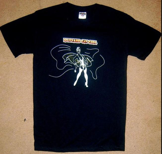 GasmaskGirl T-Shirt 2008 from GasmaskGirl video.
