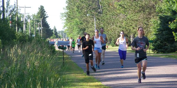 Our community July 4th Jubilee fun run.