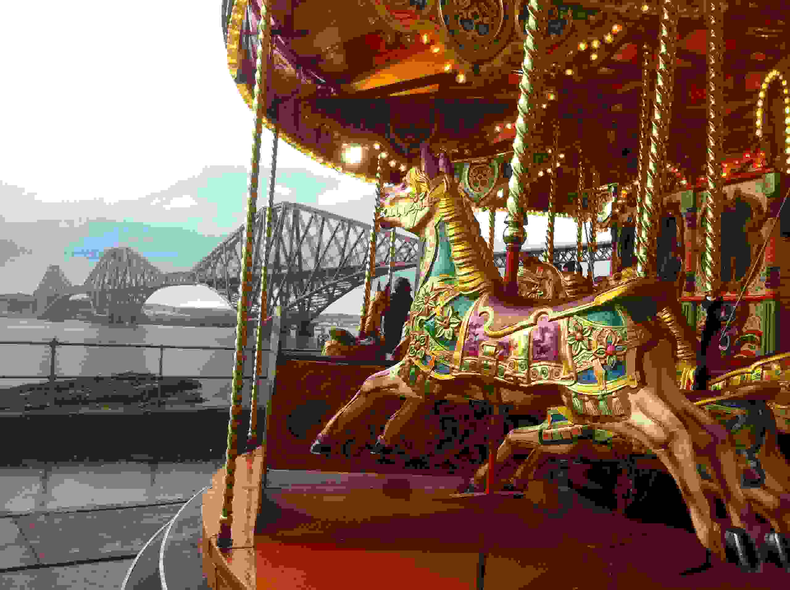 Carousel and funfair ride hires, events, weddings carousel, catering services, funfair