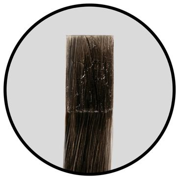 Fusion Hair Extensions are bonded to the hair using a strand by strand method. This allows for 360