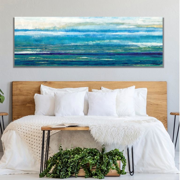 Original Abstract Art Large Paintings on Canvas, Original Contemporary Art for Health Care Clients