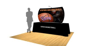 Table top displays, table  top exhibits, 6' table tops ,trade show displays, 8'  table top Displays