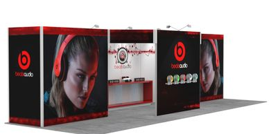 Custom Trade show Displays Rentals Houston, Custom Trade show exhibit rentals Houston
