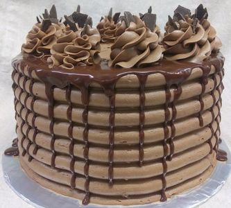 This is one our delicious chocolate therapy cakes.