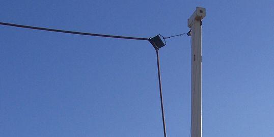 Power cable strap Randy Rinaldi Welding