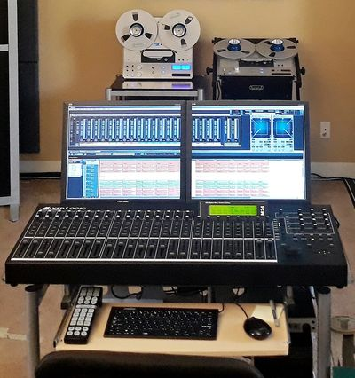 Digital Audio Workstation for multi channel digital source material