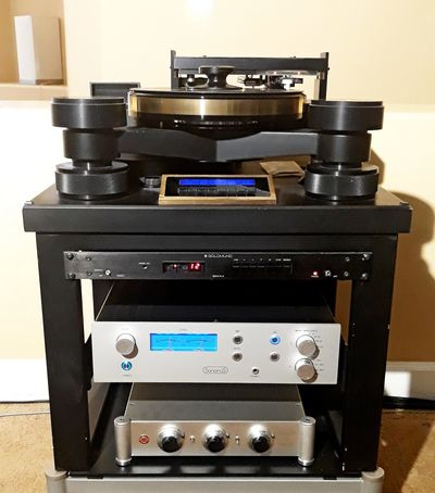 In most cases tape will be used as analog source but also vinyl records can be used as source