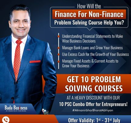 #problemsolvingcourses, #psc, #drvivekbindra, #growyourbusiness