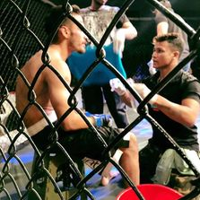 Our fighters in Cage.