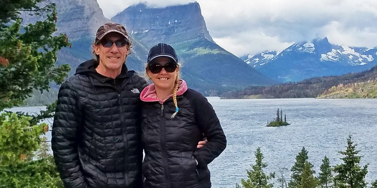 David and Shannon Biegel. Glacier National Park Vacation Planning.