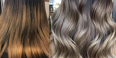 hair of Ash- balayage-ombre west palm beach