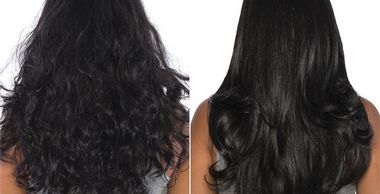womens hair with Keratin DOWNTOWN WEST PALM BEACH