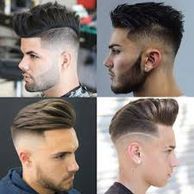 MENS with style HAIRCUT done by HAIR BY IMARA