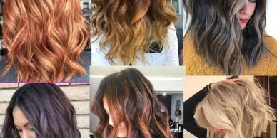 women with a Partial highlights hair salon by clematis west palm beach