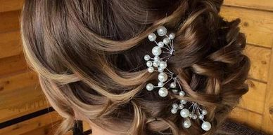 women with a Up dos for a wedding in the west palm beach area