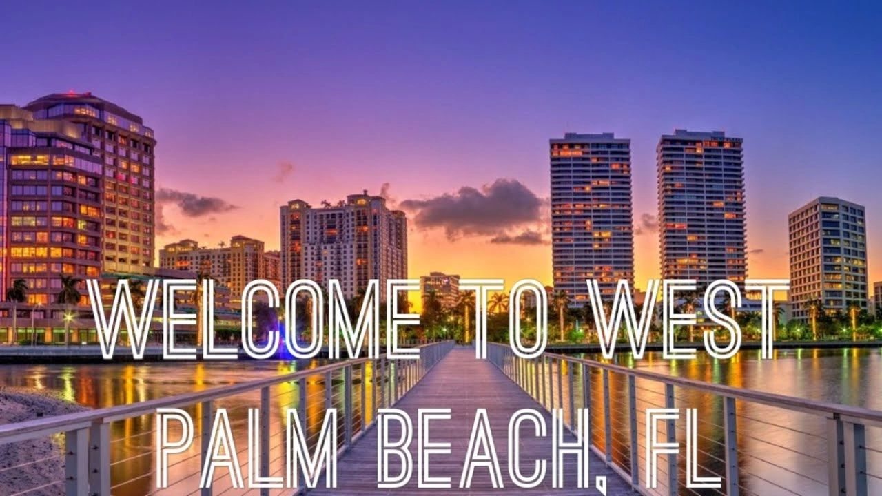 CITY VIEW OF WEST PALM BEACH
