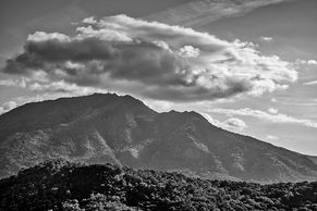 Black and White Mount Diablo Images