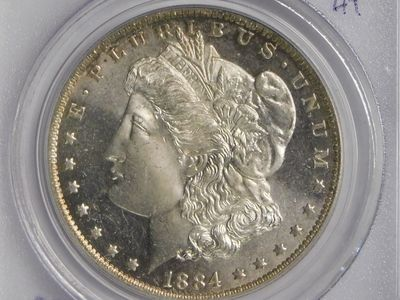 PCGS graded wonderful 1884-O Morgan Silver Dollar MS64PL Mint-State & Proof-Like pictured here.