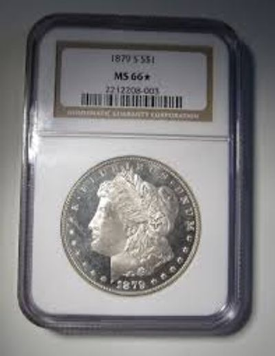 Raleigh Gold Coin Dealers buys and sells PCGS & NGC and non certified Morgan silver dollars.