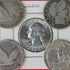 90% silver coins Barber Quarter,Silver Washington Quarters,Standing Liberty Quarters too.