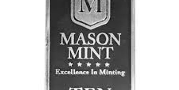 Mason Mint 10 oz silver bullion bars we buy & sell in Raleigh,NC