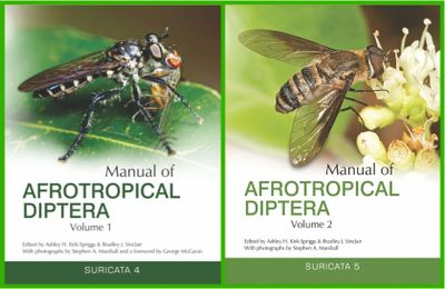 Manual of Afrotropical Diptera. 2017. Volume 1 & 2