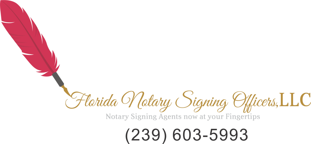Florida Notary Signing Officers