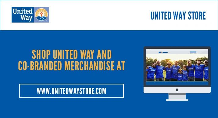United Way Store, campaign merchandise