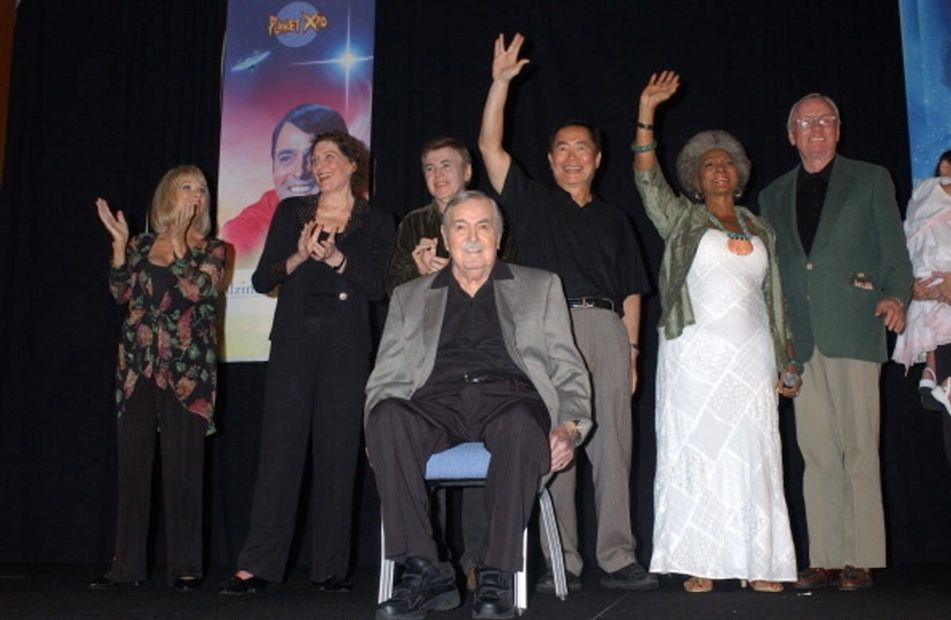 We are the company that hosted Jimmy Doohan's final show in 2004.