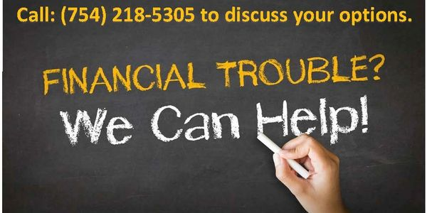 Having financial trouble, facing foreclosure or eviction. Filing for bankruptcy may help you keep