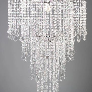 Chandelier Crystal Centerpiece 3feet tall  Stand Included $50