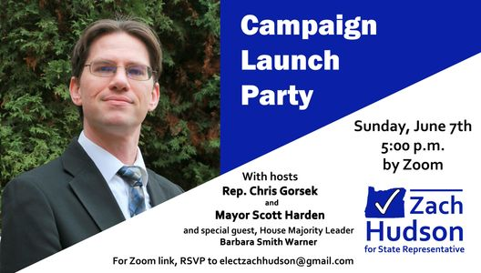 Campaign Launch Party information