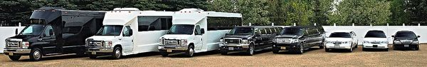Limousine service and Party bus Fleet