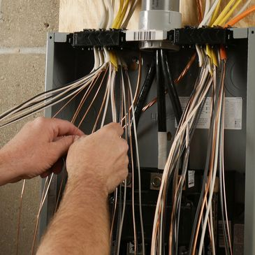 Electrical panel replacement. Electrical panel upgrades and additions.