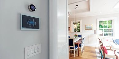 Home automation, smart home services. Lutron systems