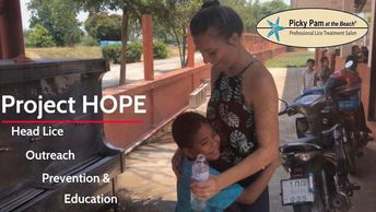 In 2017 Pam's daughter Lola created an international outreach for orphanages, & communities.