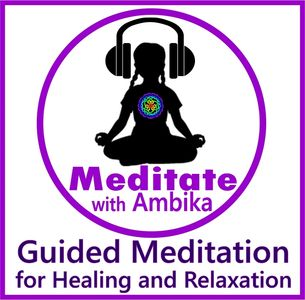 Meditate with Ambika. Listen to her soothing voice on a multitude of platforms!