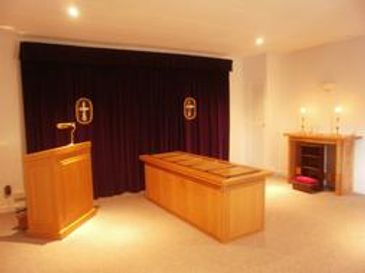 Chapel of rest - Funeral Director Mid Wales