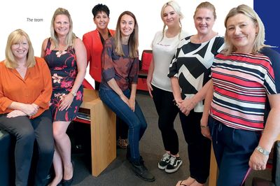 RHWE team, providing business support and personal development help across Newcastle upon Tyne