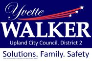 Yvette Walker for Upland City Council
