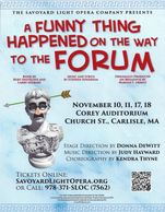 A Funny Thing Happened On The Way To The Forum 2018