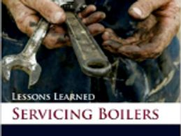 This book covers boiler maintenance and service.