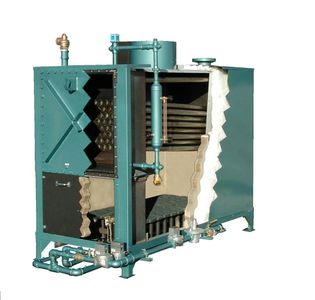 Rite water tube boiler